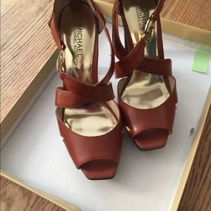 Pair of Michael Kors shoes